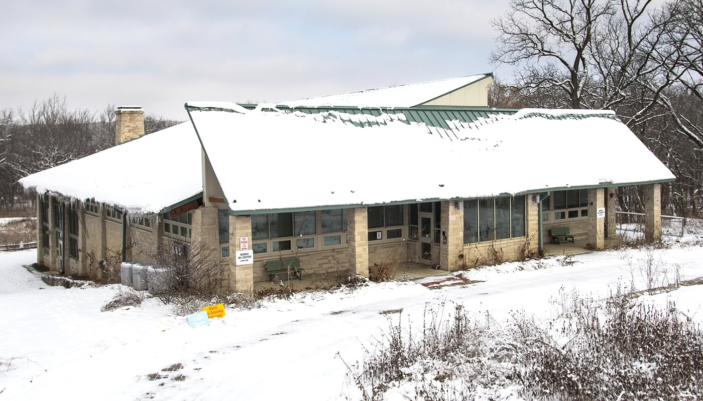 Sagawau Environmental Learning Center building in Lemont