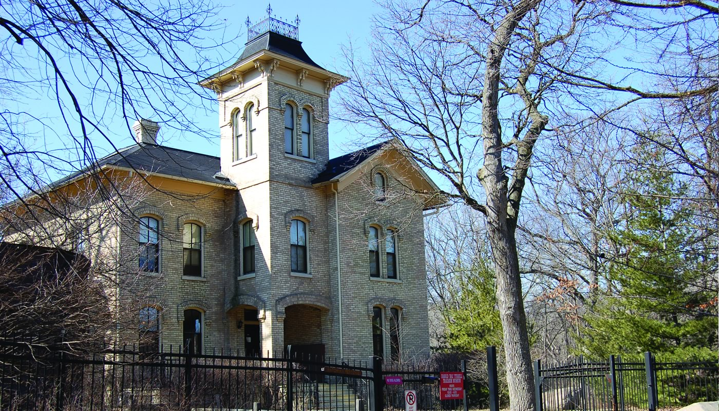 Trailside Museum building in River Forest