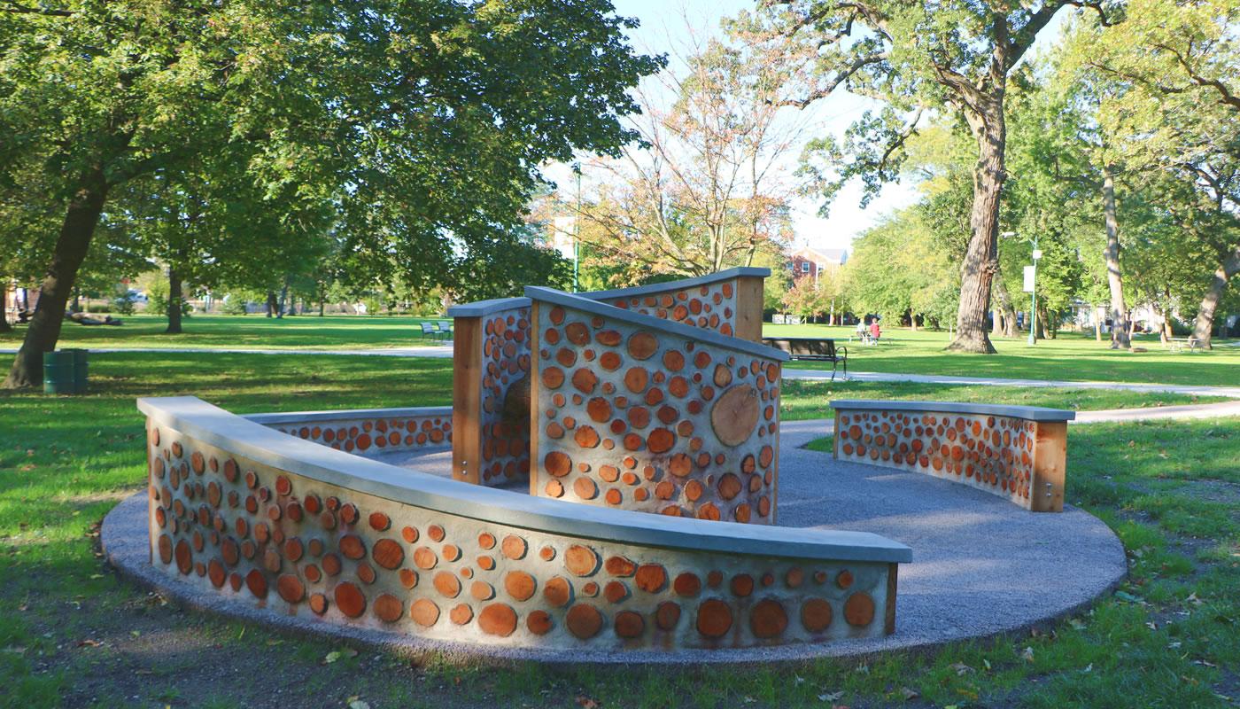 public art at Cummings Square