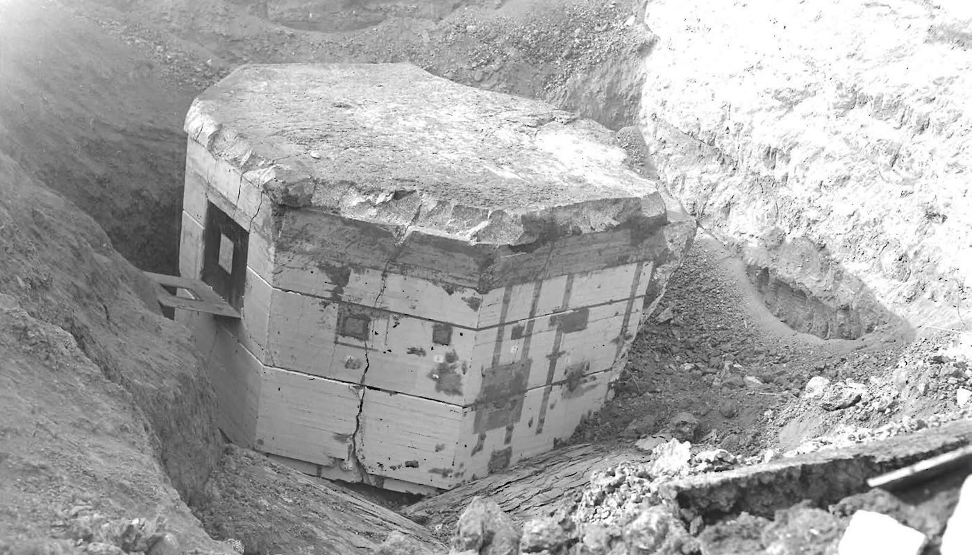 the CP-3 reactor buried at Site A