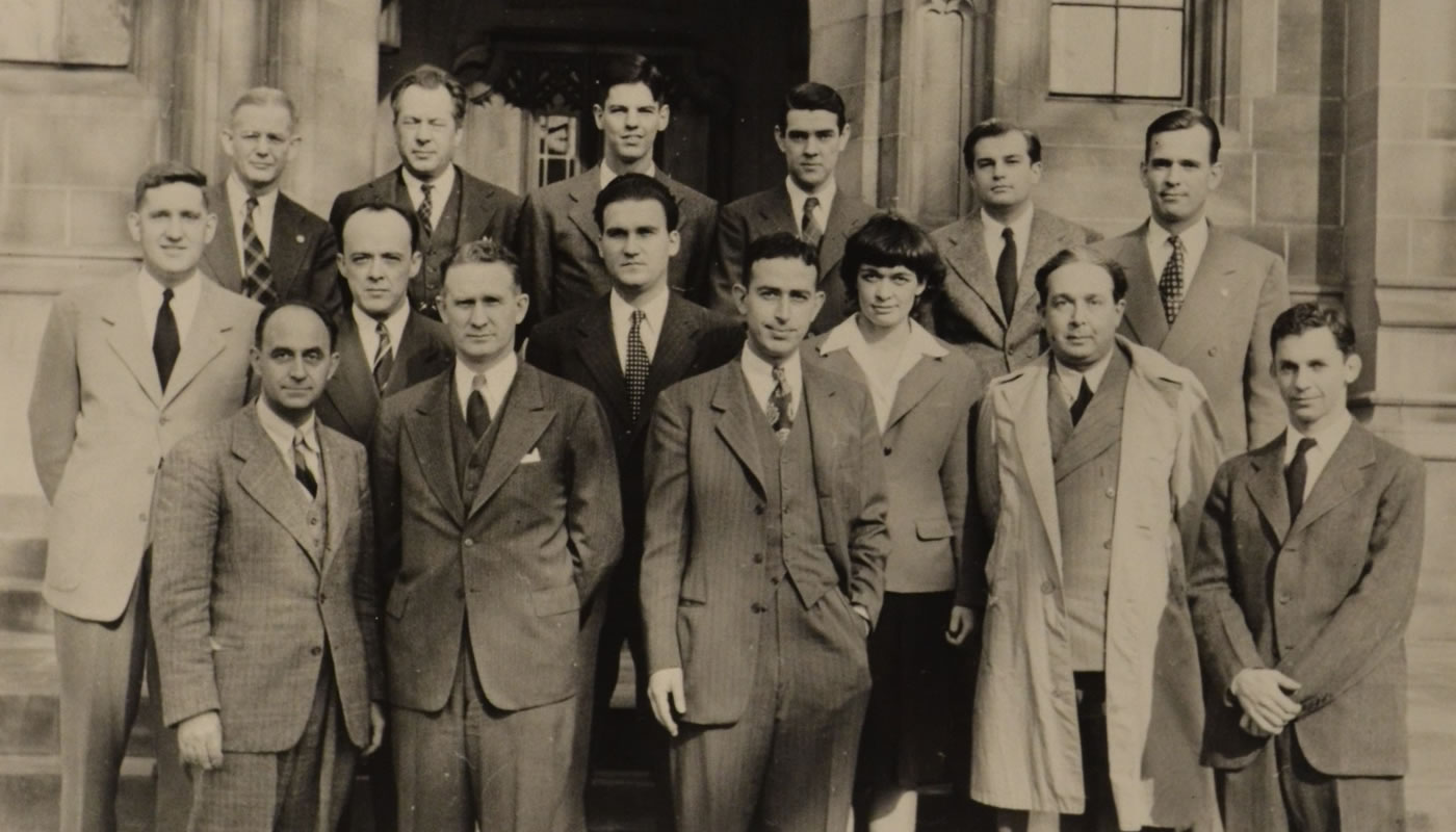 Scientists who worked on the Manhattan Project.