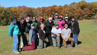 a group of participants in the Camping Leadership Immersion Course (CLIC)
