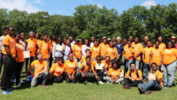a group of graduates of the Forest Preserves Experience Conservation Corps program