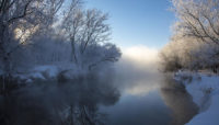 salt creek in winter