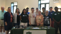 a group of Forest Preserves volunteers at a Nature Ambassador training