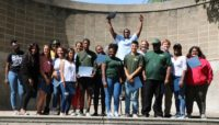 Youth Outdoor Ambassadors during year-end program