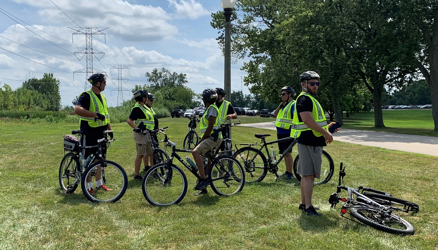 FPCC Police train for bike patrolling