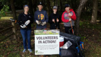 volunteers at River Trail Nature Center
