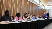 Board of Commissioners meeting at Brookfield Zoo in July 2019.