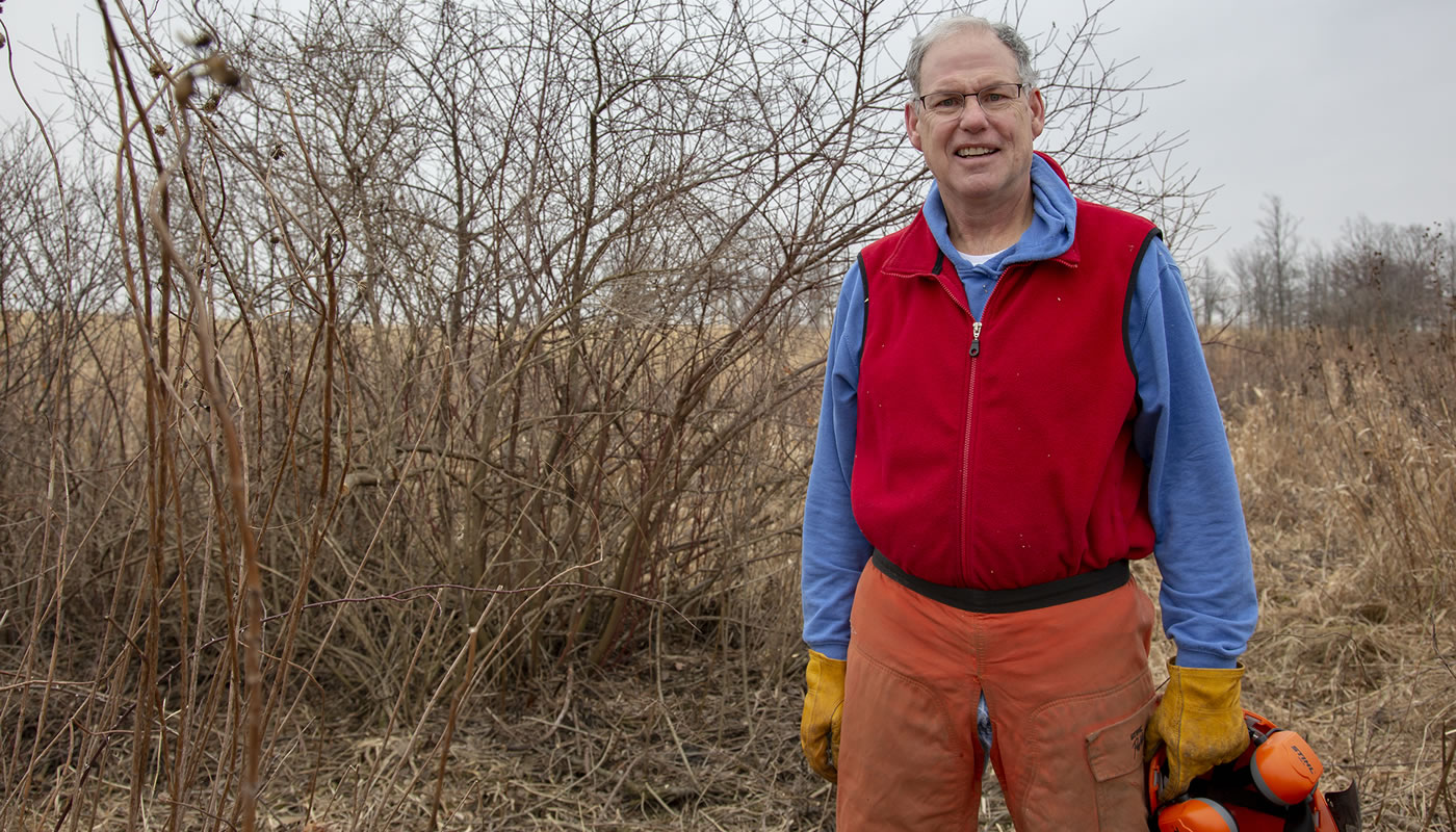Jim Carberry at Orland Grassland